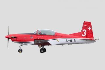Pilatus PC-7 Team / 3 Payerne Air 14 A-918 · ARW 881703 ·  Arwico Collector Edition · 1:72