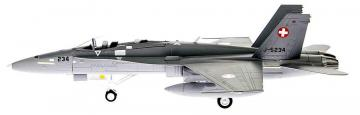 F/A-18D Hornet Swiss AirForce J-5234 · ARW 881802 ·  Arwico Collector Edition · 1:72
