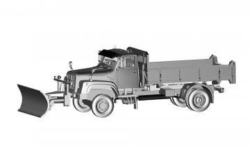 Saurer D330N 4x4 Kipper Dozza · ARW 882330 ·  Arwico Collector Edition · 1:87