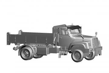 Saurer D330N 4x4 Kipper Stuag · ARW 882332 ·  Arwico Collector Edition · 1:87