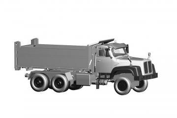Saurer D330N 6x6 Kipper KIBAG blau · ARW 882333 ·  Arwico Collector Edition · 1:87