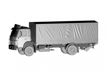 Saurer D250B 4x2 Saurer Originalteile · ARW 882380 ·  Arwico Collector Edition · 1:87