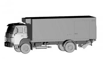 Saurer D290 4x2 Frigo Migros Kühlkette · ARW 882381 ·  Arwico Collector Edition · 1:87