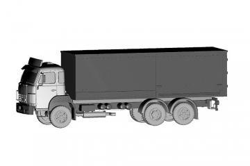 Saurer D250B 6x2 Frigo Coop · ARW 882383 ·  Arwico Collector Edition · 1:87