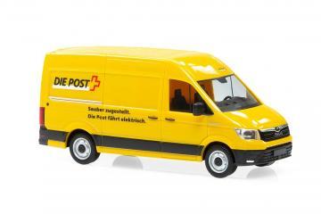 MAN eTGE ®Die Post - Elektro Lieferwagen · ARW 882503 ·  Arwico Collector Edition · 1:87