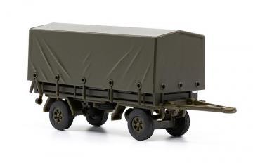 Infanterie-Anhänger SIG 1973 mit Plane hoch · ARW 885163 ·  Arwico Collector Edition · 1:87