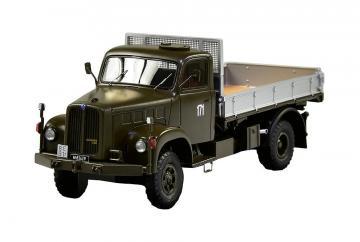 Saurer 2DM Militärlastwagen Kipper 4x4 · ARW 885515 ·  Arwico Collector Edition · 1:43