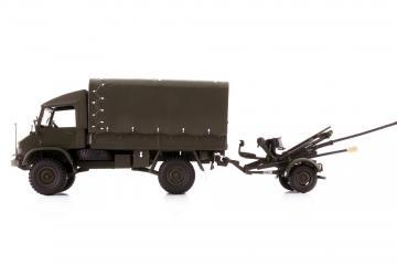 Unimog S 404 mit L Flab 54 · ARW 885517 ·  Arwico Collector Edition · 1:43