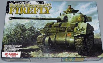 Brit. SHERMAN 5C Firefly · AKM 35009 ·  Asuka · 1:35