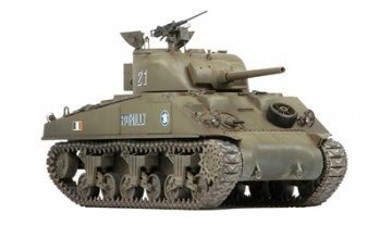 French M4A2 Romilly w/cast cheek · AKM 35037 ·  Asuka · 1:35