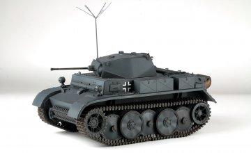 Dt. Pz.Kpfw.II Ausf.L LUCHS (Early) · AKM 35038 ·  Asuka · 1:35