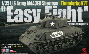 M4A3E8 Sherman Easy8 Thunderb. VII · AKM 35040 ·  Asuka · 1:35
