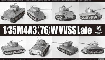 M4A3(76)W VVSS Late · AKM 35043 ·  Asuka · 1:35