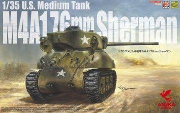 M4A1 76mm · AKM 35047 ·  Asuka · 1:35
