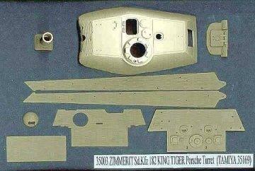 KING TIGER Porsche Turret, Sd.Kfz.181 · AT 35003 ·  Atak Model · 1:35