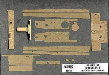 TIGER I , Sd.Kfz.181 · AT 35005 ·  Atak Model · 1:35