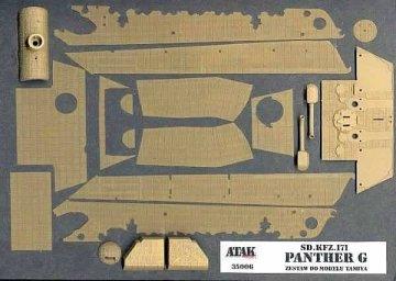 PANTHER, Sd.Kfz.171 · AT 35006 ·  Atak Model · 1:35