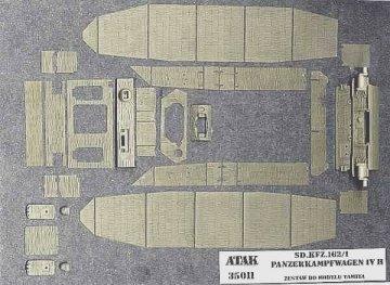 PzKpfw IV H , Sd.Kfz.161/1 · AT 35011 ·  Atak Model · 1:35