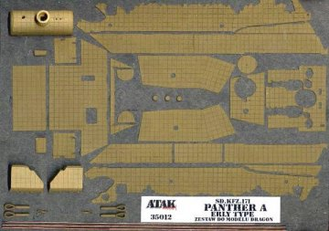 PANTHER A Early Model · AT 35012 ·  Atak Model · 1:35