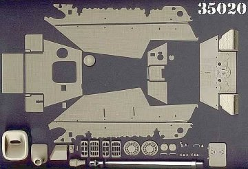 JAGDPANTHER (ONLY ZIMMERIT SHEET) · AT 35020 ·  Atak Model · 1:35