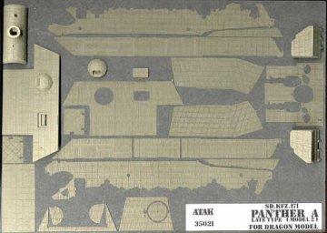 PANTHER A Late Type (model II DRAGON), Sd.Kfz.171 · AT 35021 ·  Atak Model · 1:35