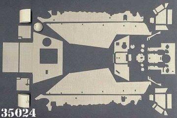 JAGDPANTHER, Sd.Kfz.173 · AT 35024 ·  Atak Model · 1:35