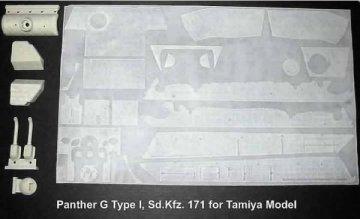 PANTHER G (Type I ), Sd.Kfz.171 · AT 35027 ·  Atak Model · 1:35