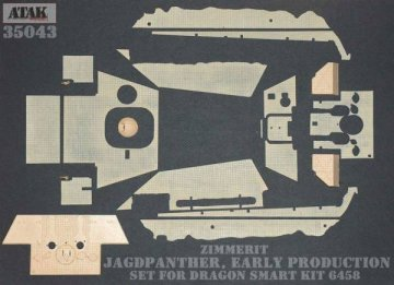 JAGDPANTHER Early Production · AT 35043 ·  Atak Model · 1:35