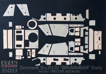 BRUMBAR Early Production · AT 35053 ·  Atak Model · 1:35