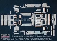 StuG III G (Type Alkett) · AT 35054 ·  Atak Model · 1:35