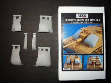Concrete Armor For STUG. III G · AT 35A03 ·  Atak Model · 1:35