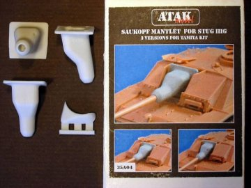 Saukopf Mantlet For STUG. III G · AT 35A04 ·  Atak Model · 1:35