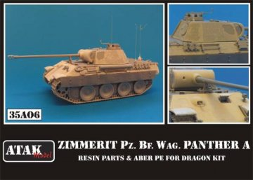 Zimmerit Pz.Bef.Wag. Panther A (ABER PE) · AT 35A06 ·  Atak Model · 1:35