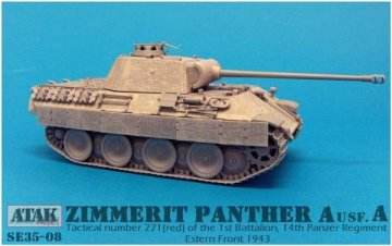 PANTHER A / Early,1st Battalion, 14th Pz.Reg. · AT SE3508 ·  Atak Model · 1:35
