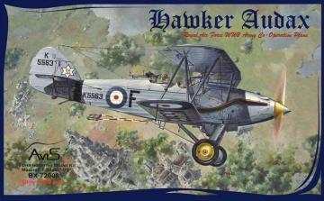 Hawker Audax · AVIS 72008 ·  Avis · 1:72