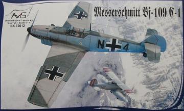 Messerschmitt Bf 109 C-1 WWII German fighter · AVIS 72012 ·  Avis · 1:72