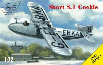 Short S.1 Cockle · AVIS 72031 ·  Avis · 1:72