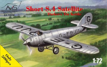Short S.4 SatelliteParkers Tin Kettle · AVIS 72034 ·  Avis · 1:72
