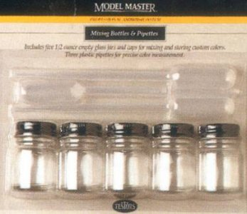 MM 5 Flaschen + 3 Pipetten · AZ 350625 ·  Aztek Airbrush