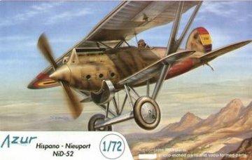Hispano-Nieuport Ni-D 52 · AZU A041 ·  Azur · 1:72