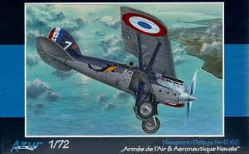 Nieuport Delage Ni-D 62 · AZU A049 ·  Azur · 1:72