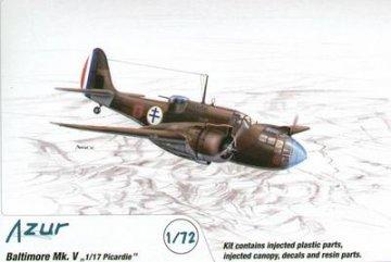 Baltimore Mk. V 1/17 Picardie · AZU A067 ·  Azur · 1:72