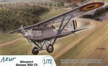 Nieuport NiD 72 · AZU A069 ·  Azur · 1:72