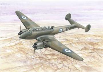 Potez 633B.2 French Light Bomber · AZU A082 ·  Azur · 1:48