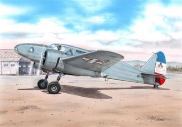 Caproni Ca310 Yugo.,Croat & Hung. Mark. · AZU A088 ·  Azur · 1:72