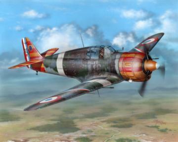 Bloch MB 152C.1 Red&Yellow Stripes · AZU A094 ·  Azur · 1:32