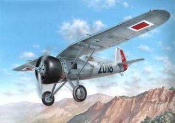 PZL.24A/C Turkish AF · AZU A102 ·  Azur · 1:72