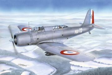 V-156F Vindicator in Aeronavale Service · AZU A113 ·  Azur · 1:72