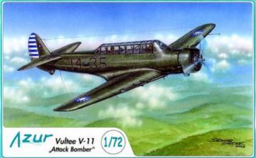 PZL P.11c Foreign Service · AZU A115 ·  Azur · 1:72