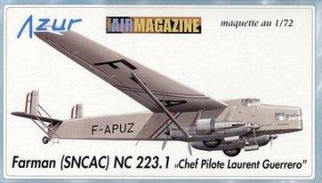 Farman (SNCAC) NC 223.1 · AZU AIR-72 004 ·  Azur · 1:72